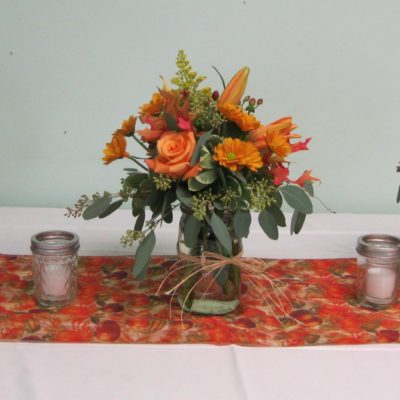 Set of 3 Pt. Mason Jars