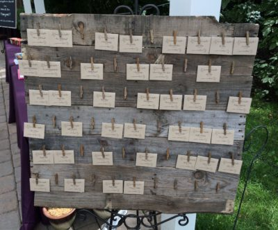 Wood Pallet Display Board