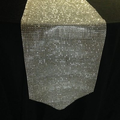 Rhinestone Table Runner